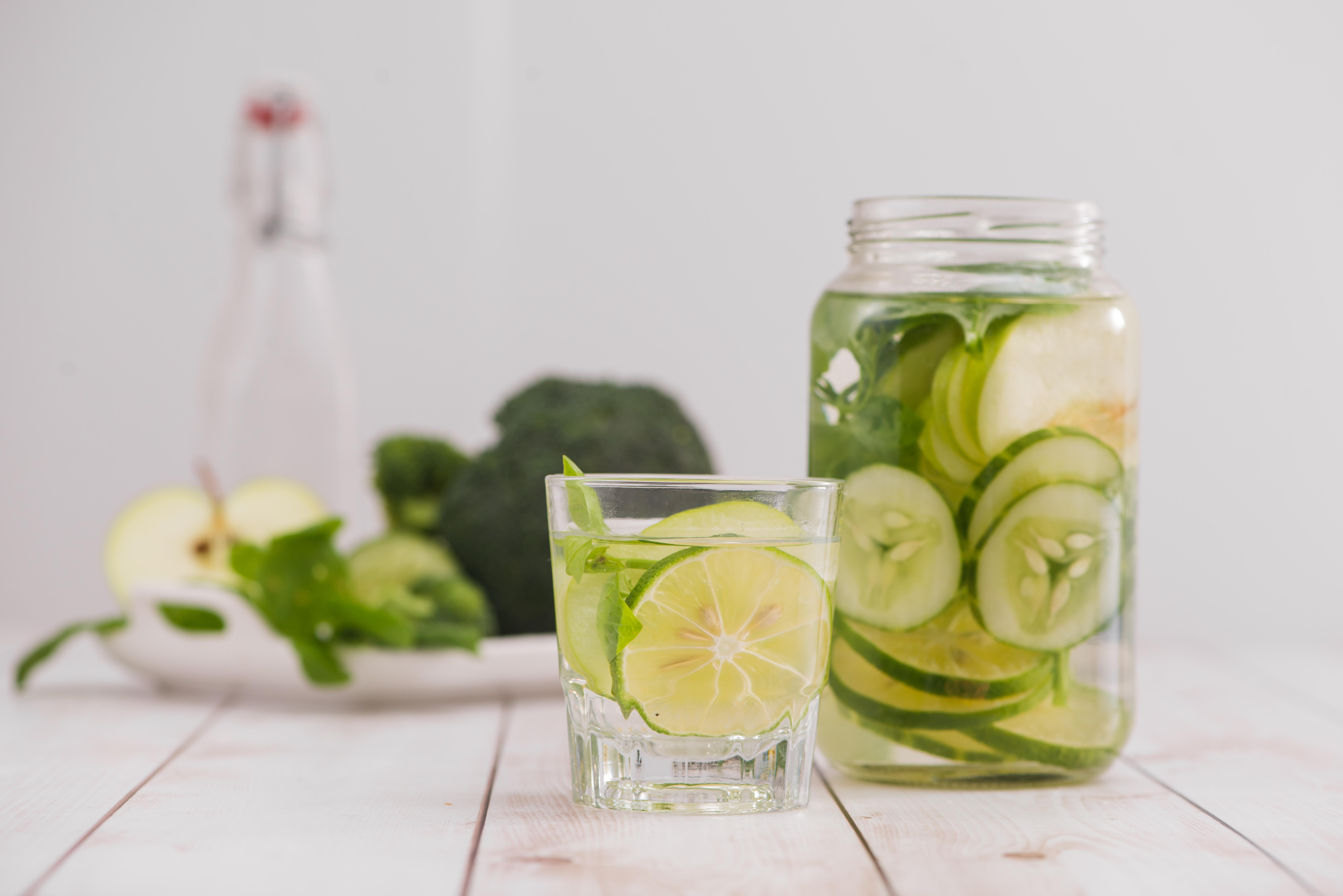 Gesunde Ernährung: Viel Trinken